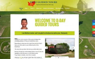 D-day guided tours